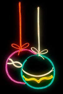 Iluminación Navideña bolas de navidad hilo continuo multicolor 203x300 Catálogo de Iluminación